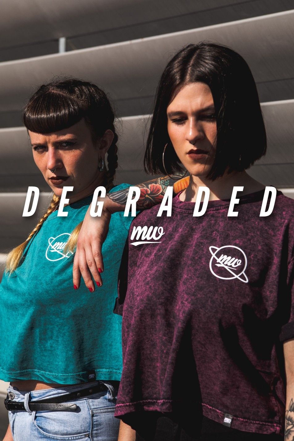 DEGRADED TEE. SPRING - SUMMER 2019