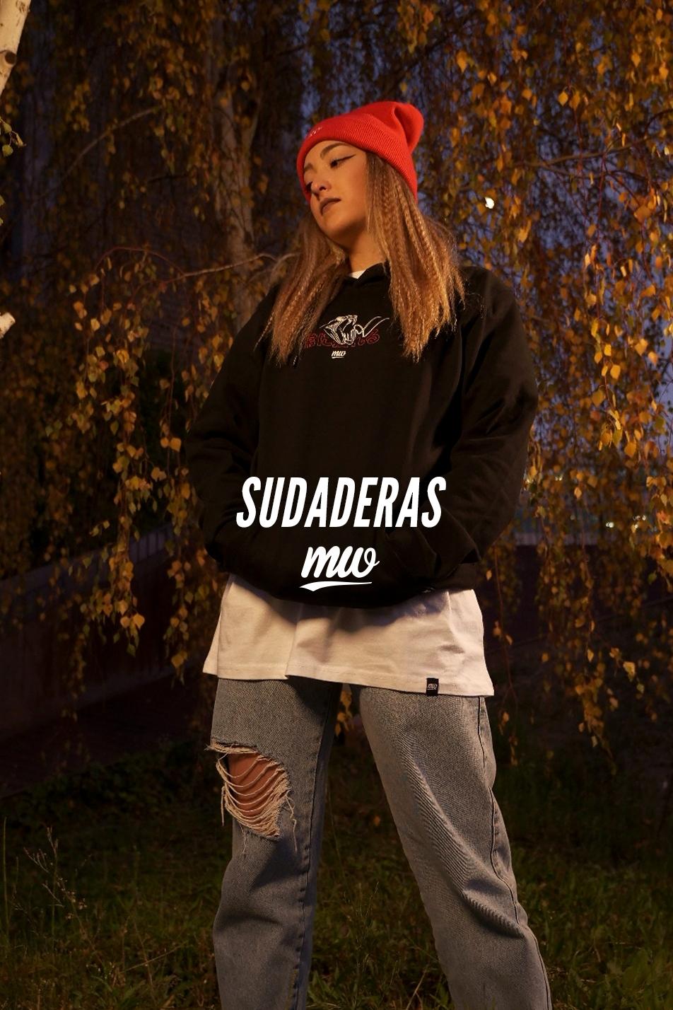 - SUDADERAS